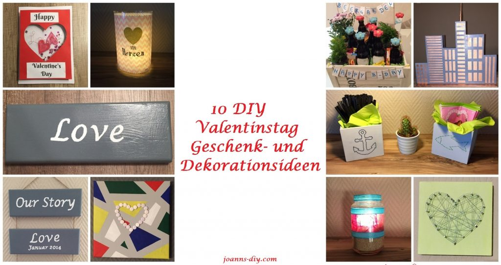 10 diy valentinstag geschenk und dekorationsideen. Black Bedroom Furniture Sets. Home Design Ideas